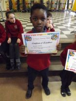 January Pupil of the Month 2016
