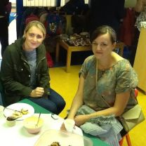 MACMILLAN Coffee morning in the Nursery
