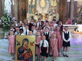 P4 Attended the Solemn Novena