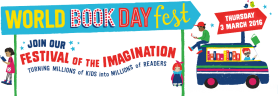 World Book Day 3rd March 2016!