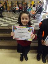 February Pupil of the Month 2016