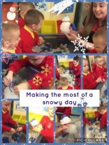 A snowy day in the Nursery