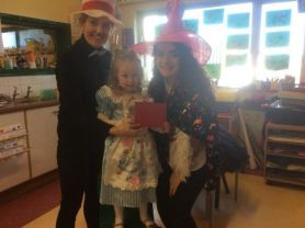 Nursery say Goodbye and Good luck to Miss Webb