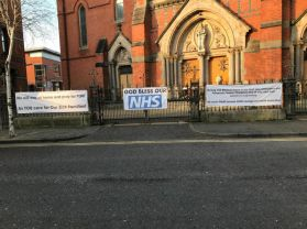 St. Paul's stands in solidarity with the AMAZING NHS!